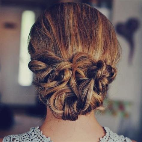 hair style with flower 27 best images about grad options on 7716