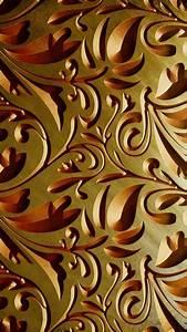 iPhone X Wallpaper Gold Designs