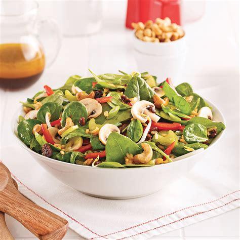 calorie cuisine chinoise salade d 39 épinards à la chinoise recettes cuisine et