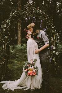 Fairy Tale Cabin Wedding in Northern Michigan Junebug