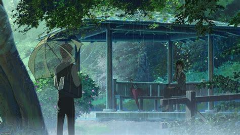 rain  garden  words makoto shinkai wallpapers hd