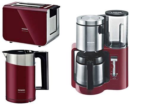 toaster und eierkocher fr 252 hst 252 cksset kaffeemaschine toaster wasserkocher rot klimaanlage und heizung