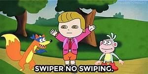 Swiper, no swiping! donald trump stole dora the explorer's ...