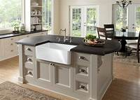 kitchen island with sink 15 Amazing Movable Kitchen Island Designs and Ideas - Interior Design Inspirations