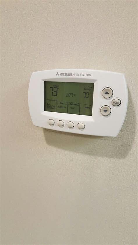 Mitsubishi Wireless Thermostat by Mitsubishi Wireless Wall Mounted Controller Smart