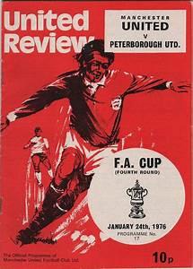 Vintage Football (soccer) Programme - Manchester United v ...