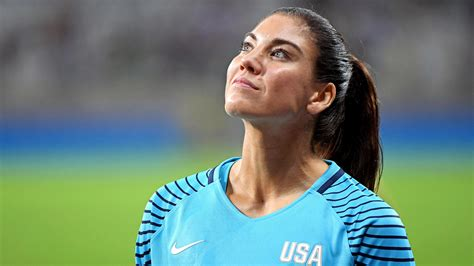 hope solo suspended  words  actions outkick