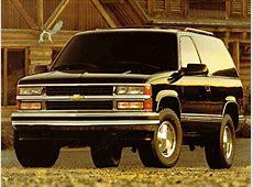 1999 Chevrolet Tahoe Specs, Pictures, Trims, Colors