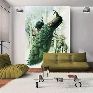 Aliexpress.com : Buy Peacock Large 3D Wall Murals ...