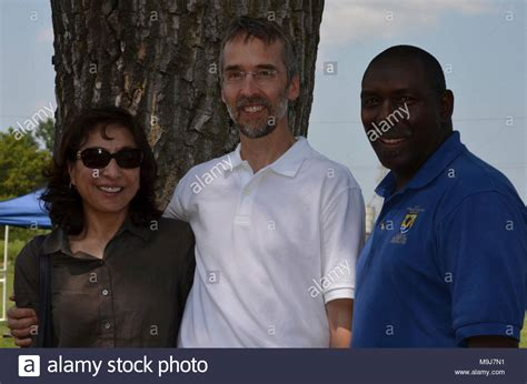 Joe Hautman (center) And Wife With Jerome Ford (right), Ad