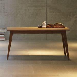 Eiche Massiv Tisch : xaver tisch eiche massiv 150 x 75 cm online kaufen bei woonio ~ Eleganceandgraceweddings.com Haus und Dekorationen