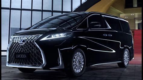 lexus lm ultra luxurious minivan youtube