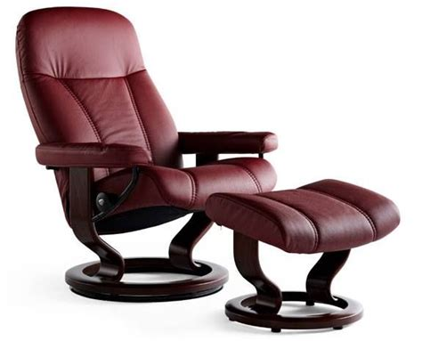 stressless consul classic base medium recliner chair with