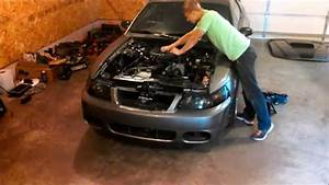 99-04 Mustang 3 8 V6 Engine Removal