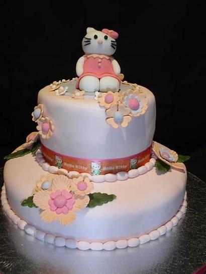 Kitty Hello Birthday Cakes Cake Idea Decoration