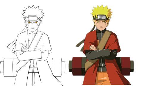 Cara menggambar anime dengan mudah untuk kamu yang masih pemula alabn. 20+ Inspirasi Lukisan Naruto Yang Mudah Ditiru - Verbal ...