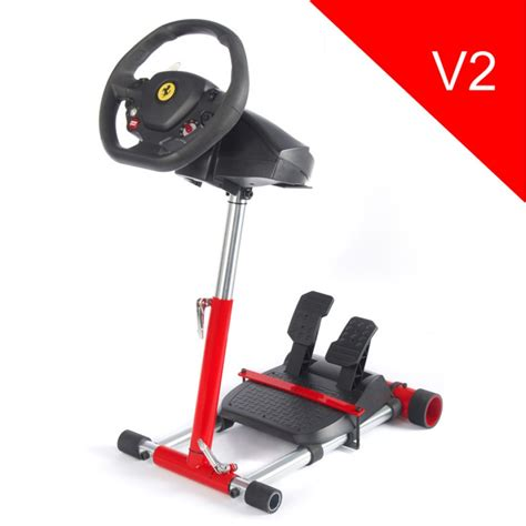 The ferrari 458 spider wheel has a wide and adjustable, optimised pedal set. Stand for Thrustmaster F458 SPIDER /T80 /T100 /F458 /F430 wheels - V2