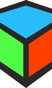Clipart - 3D Cube Icon