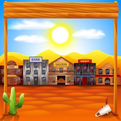 Vectores de stock de West ilustraciones de West sin