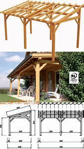 Pergola Bois En Kit Pas Cher : abri terrasse bois pas cher avent de terrasse en bois ~ Edinachiropracticcenter.com Idées de Décoration
