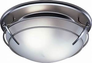 Broan sn bathroom ceiling fan light with frosted glass