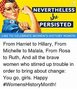 DCCC NEVERTHELESS He PERSISTED LIKE TO CELEBRATE WOMEN'S ...