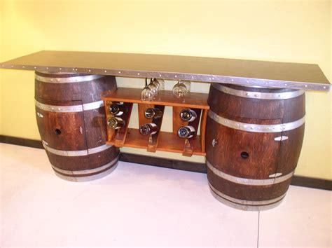 whiskey barrel ideas barrel table wine rack bar