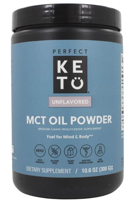 buy perfect keto mct oil powder medium chain