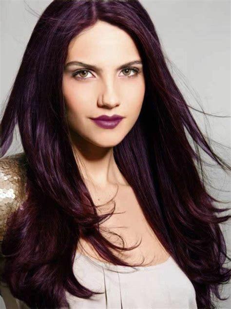 1001 id 233 es pour sublimer votre look avec la couleur de cheveux violine coupe couleur prune