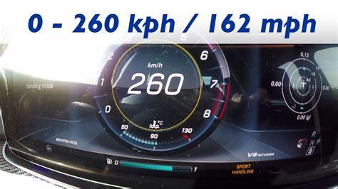 260 Kmh In Mph by 2016 Mercedes Amg E 63s 4matic W213 0 100 Km H Kph 0