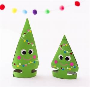 Basteln Mit Kindern Weihnachten Und Winter : klorollen tannenbaeumchen neu weihnachten pinterest ~ Watch28wear.com Haus und Dekorationen