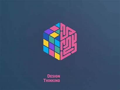 Thinking Animation Logos Cube Brain Experience Working