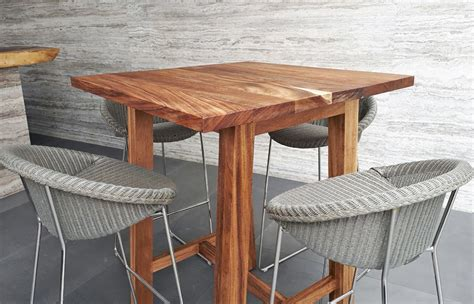 The Bar Table by Modern Wooden Bar Tables Custom Made In Mexico