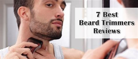 beard trimmers professional review mister shaver