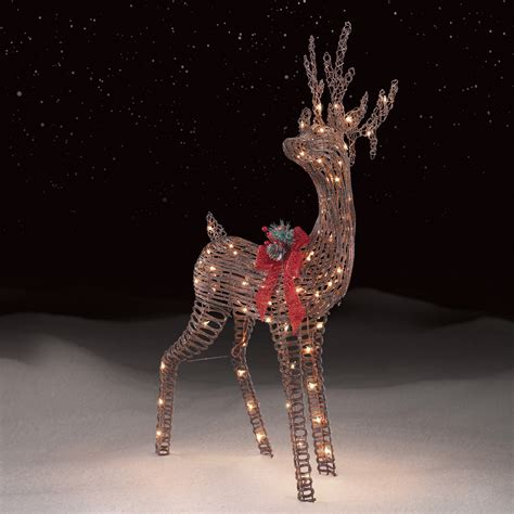 lighted deer christmas decoration psoriasisgurucom