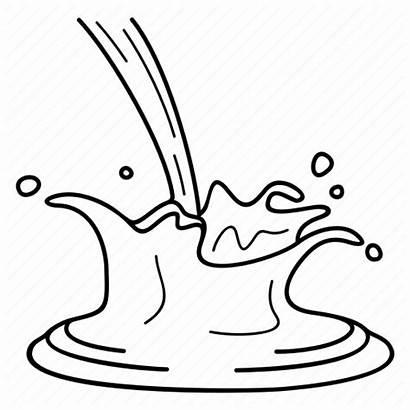 Splash Milk Chocolate Icon Fondant Cacao Dairy