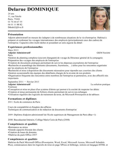 offres d emploi femme de chambre exemple de cv auditeur qualité