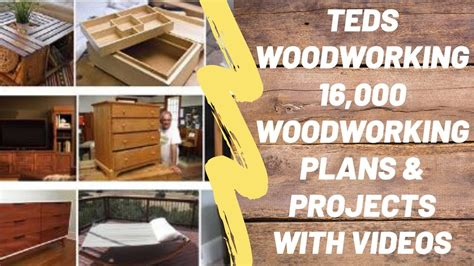 teds woodworking review  plans projects youtube