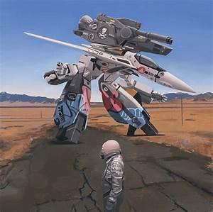 Robotech Painting by Scott Listfield  Robotech