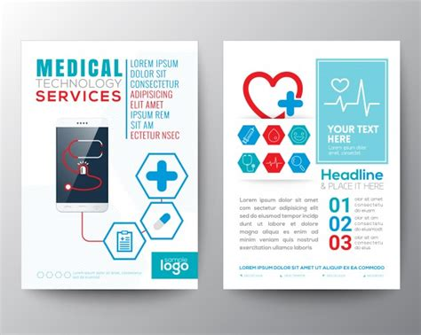 Healthcare Brochure Templates by Brochure Template Vector Free
