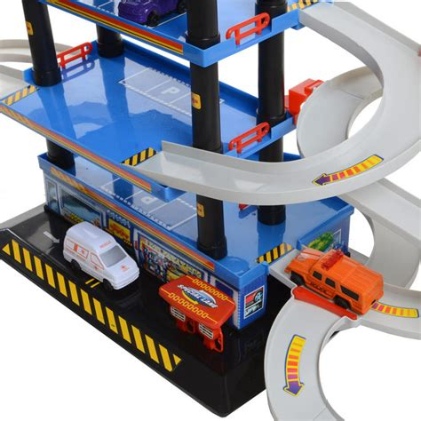 Fast Parking Garage by Play Play Multi Storey Fast Car Vehicle Helicopter