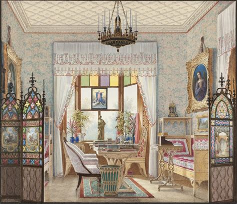 domestic interior paintings show    lived