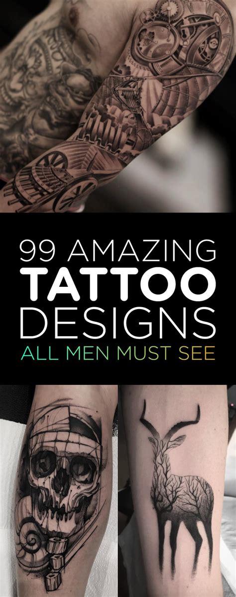 amazing tattoo designs  men   tattooblend