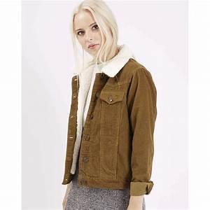 manteau femme velours cotele
