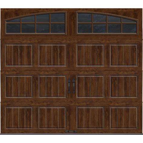 10 x 8 garage door home depot clopay gallery collection 8 ft x 7 ft 18 4 r value