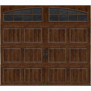 clopay gallery collection 8 ft x 7 ft 65 r value With 5 ft garage door