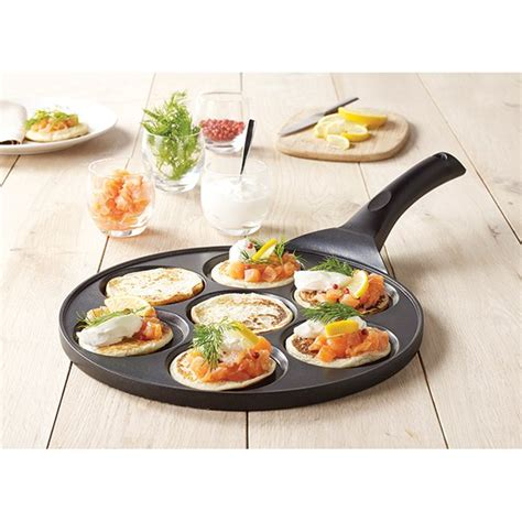 po 234 le 7 blinis ou pancakes 224 induction fonte 27 cm mathon