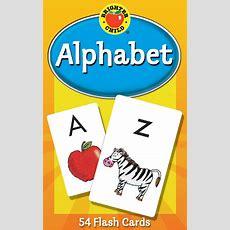 Abc Kids Alphabet Flash Cards Learning Brighter Child Flashcards Set Preschool 9780769646794 Ebay