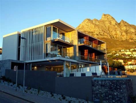 boutique hotel in cape town is modern architecture composition represents interior design
