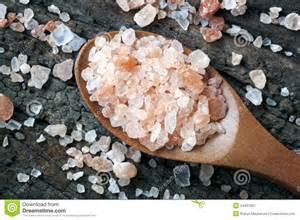 pink himalayan rock salt stock image image 34407351